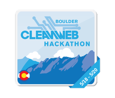 Cleanweb Hackathon Boulder