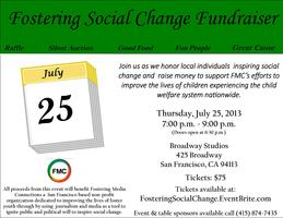 Fostering Social Change Fundraiser