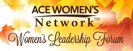 ACE Women's Leadership Forum