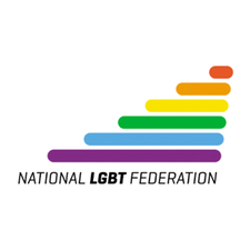 National LGBT Federation ( NXF) and GCN  logo