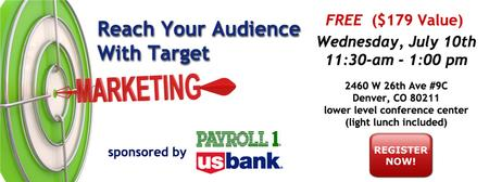 Reach Your Audience Through Target Marketing