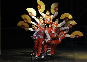Golden Dragon Acrobats from China