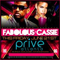 Alex Gidewon of AG Entertainment Presents :: Fabolous + Cassie...