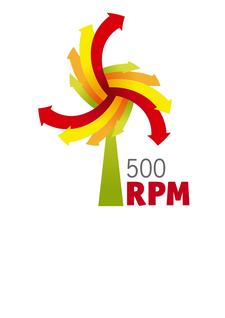 500RPM logo
