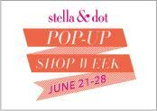 Stella & Dot POP UP Shop with Dabney Lee - Saturday