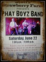 Scott's, Strawberry Farm presents The Phat Boyz Band