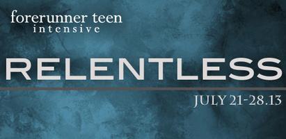 Forerunner Teen Intensive 2013