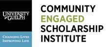Community Engaged Scholarship Institute, University of Guelph logo