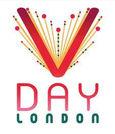 V-Day London logo
