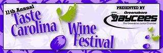 11TH Annual Taste Carolina Wine Festival