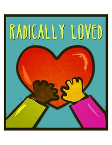Radically Loved, a Pursuit ministry logo