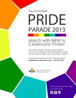 RSVP: March with NEW at Pride Parade 2013