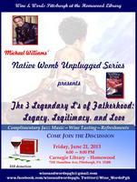Wine & Words Presents Michael Williams: Native Womb...