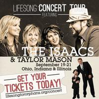 The Isaacs & Taylor Mason Concert Tour – Indianapolis, IN