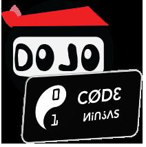 CODE NINJAS DOJO logo