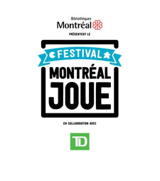Festival Montréal Joue  logo
