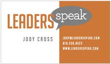 Leaders Speak - Jody Cross logo