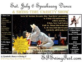 Speakeasy Dance & Swing-Time Variety Show & Benefit