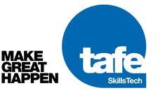 TAFE Queensland SkillsTech  logo