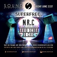 6/21 | RSVP for Superfreq at SOUND feat Mr.C, David Scuba, Xo...