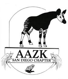 American Association of Zoo Keepers San Diego logo