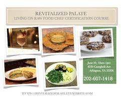 Living on Raw Food Chef Certification Course