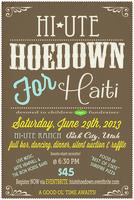 Hi Ute Hoedown for Haiti!
