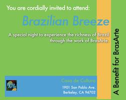 Brazilian Breeze: A Benefit for BrasArte
