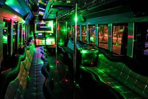 Strippers Stripes & Stars 4th of July Party Bus