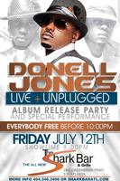 Free Concert! Donell Jones Live & Unplugged