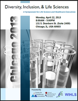 2013 Diversity, Inclusion, & Life Sciences Symposium