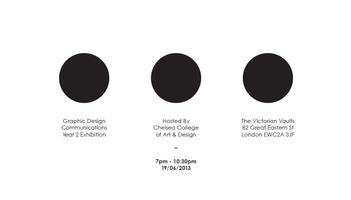 Graphic Design Exhibition - Chelsea Art&Design College