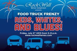 Food Truck Frenzy: Reds, Whites and Blues!