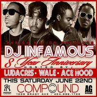 AG Entertainment Presents :: DJ Infamous 8 Year Anniversary  ::...