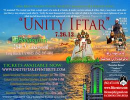 UNITY IFTAR BANQUET