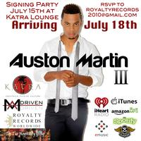 Auston Martin & Royalty Records World Wide Signing Party at...