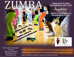 PEP HEP ZUMBA CLASSES