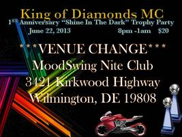 "King of Diamonds MC Delaware Anniversary ""Shine In The..."