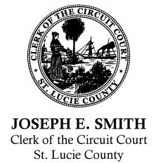 Clerk of the Circuit Court, St. Lucie County logo