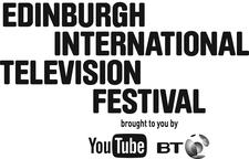 Edinburgh International Television Festival brought to you by YouTube and BT logo