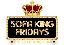 Sofa King Fridays logo