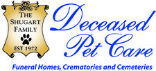 Deceased Pet Care Funeral Homes, Crematories and Cemeteries logo