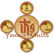 Holy Name Cathedral Young Adults logo