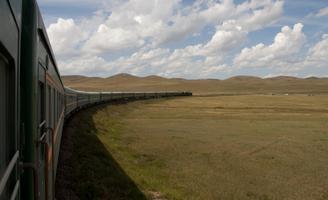 Edmonton - Trans Mongolian Rail Journey