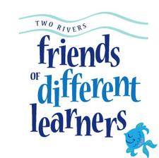 Two River Friends of Different Learners logo