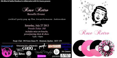 Rose Retro Benefit Event