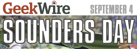 GeekWire Sounders Day, presented by EMC/Isilon