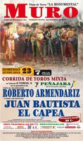 Corrida de Toros Mixta Muro (Mallorca) 23-6-2013