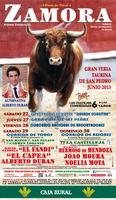 Feria Taurina de Zamora SAN PEDRO 2013