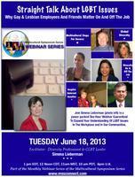 June 2013 Webinar: Straight Talk LGBT Issues